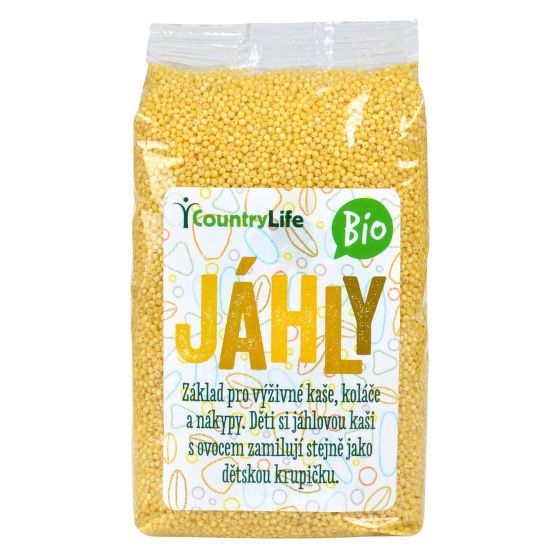 Country life - Jáhly 500 g BIO