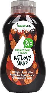 Datlový sirup Country life 350 g BIO