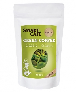 Green Cofee - zelená káva s kofeinem BIO RAW 200 g - Dragon Superfoods