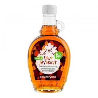 Sirup javorový Grade A 250 ml COUNTRY LIFE