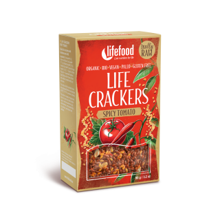 LIFE CRACKERS Mexické RAW BIO 90 g