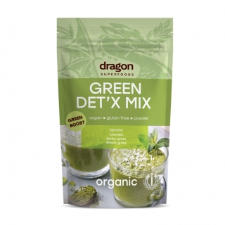 Green detox mix BIO RAW 200 g - Dragon Superfoods