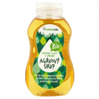 Country life - Sirup agávový 250 ml BIO