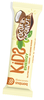 Bombus RAW Energy - KIDS COCOA & COCONUT 40 g