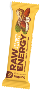 Bombus RAW Energy - Peanuts & Dates