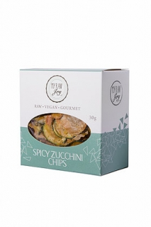 Cuketové chipsy spicy - 40 g